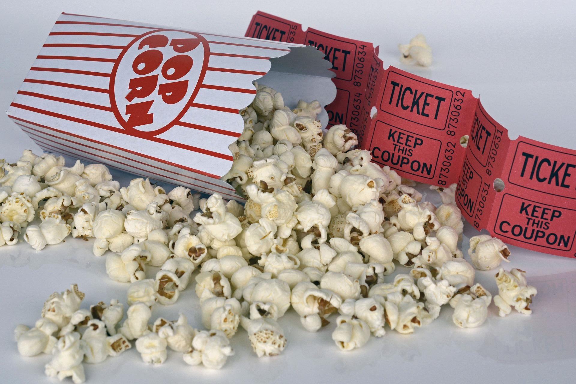 Popcorn - gehört unbedingt immer dazu